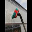 Vikan Autómosó kefe fej, víztáplált, forgatható, 250 mm, puha