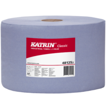 KATRIN 481252 Classic L3 Blue ipari törlő, 3 rét. kék, 2 tek/csom