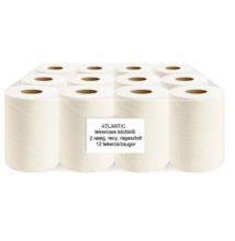 ATLANTIC kistekercses kéztörlőpapír, 80% fehér