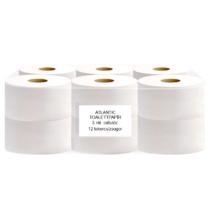 ATLANTIC mini 19 cm-es toalettpapír, 3 rét. hófehér