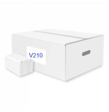 ATLANTIC V210 soft hajtott kéztörlő, 2 rétegű, hófehér