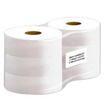 ATLANTIC maxi 26 cm-es toalettpapír, 2 rét. hófehér