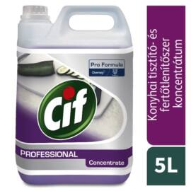 Cif Prof. 2in1 Cleaner Disinfectant, 5 liter