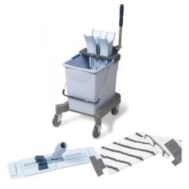 VILEDA US Pro Egyvödrös felmosókocsi Starter Kit - 25 liter