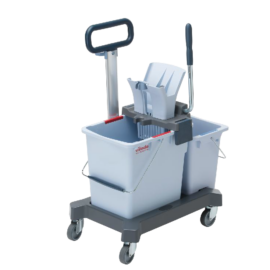 VILEDA US Pro kétvödrös kocsi tolókarral - 25+10 liter