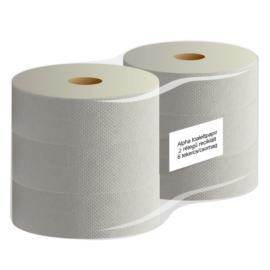 ATLANTIC midi 23 cm-es toalettpapír, 2 rétegű, 80% fehér