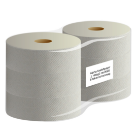 ATLANTIC maxi 28 cm-es toalettpapír, 1 rétegű, natúr