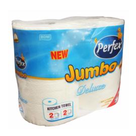 PERFEX Deluxe Jumbo konyhai törlő, 2 tekercs