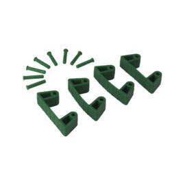 Vikan Gumi csipesz, 4db 1017-hez és 1018-hoz, 120mm