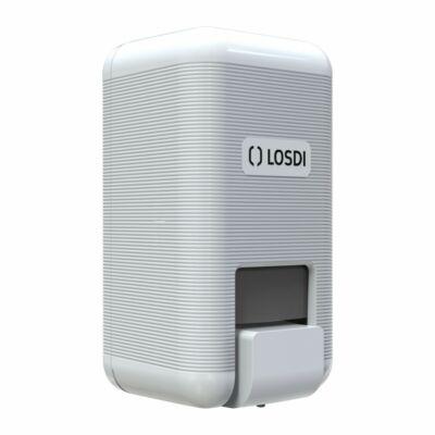 Losdi ECO LUX Line folyékony szappan adagoló, fehér 1 literes
