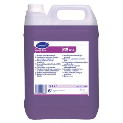 SUMA Bac D10 5 liter - fertőtlenítő kézi mosogatószer
