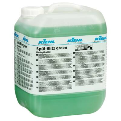 KIEHL Spül-Blitz green 10 ltr. - fényesre száradó edénymosogató
