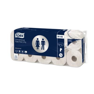 TORK 3065 Advanced Soft toalettpapír, 3 rétegű, fehér (10 tekercs/csomag)