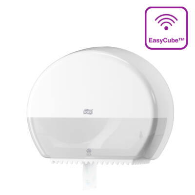 TORK 555000 Mini Jumbo toalettpapír adagoló, fehér