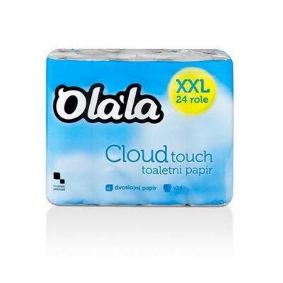 Olala Could Touch toalettpapír - 2 rétegű, hófehér  (24 tekercs/csomag)