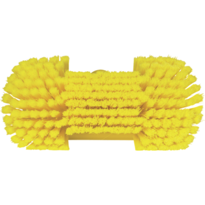 Kép 2/6 - Vikan Mosó kefe, csukló nyakkal, vizezővel, 240 mm, puha/osztott